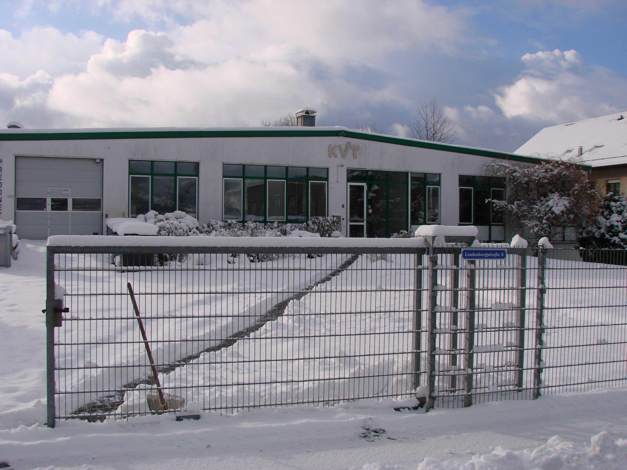 KVT GmbH Lindenbergstrasse 5 79199 Kirchzarten im Januar 2016