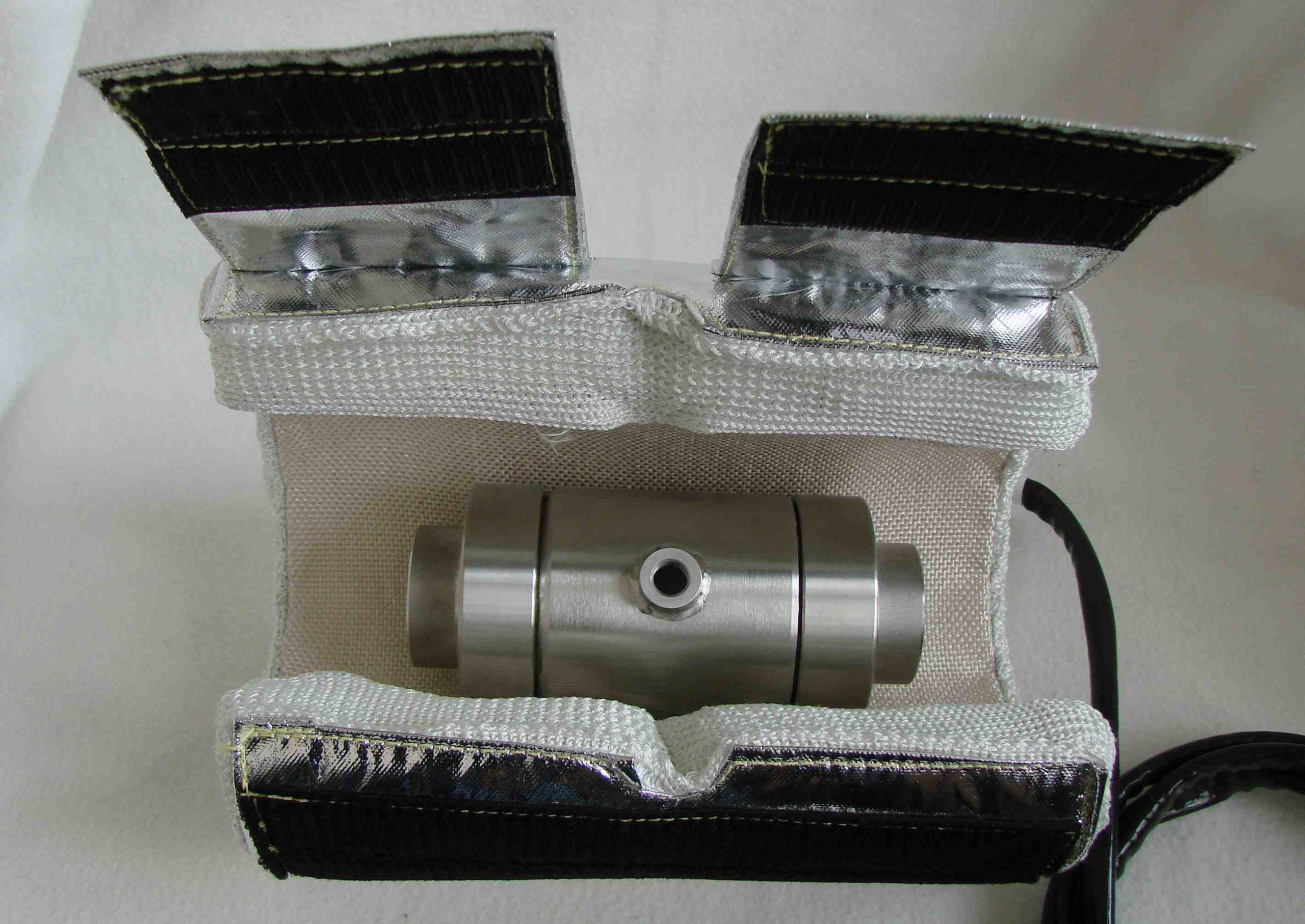 Muffenanschluss in Aluminiumlegierung