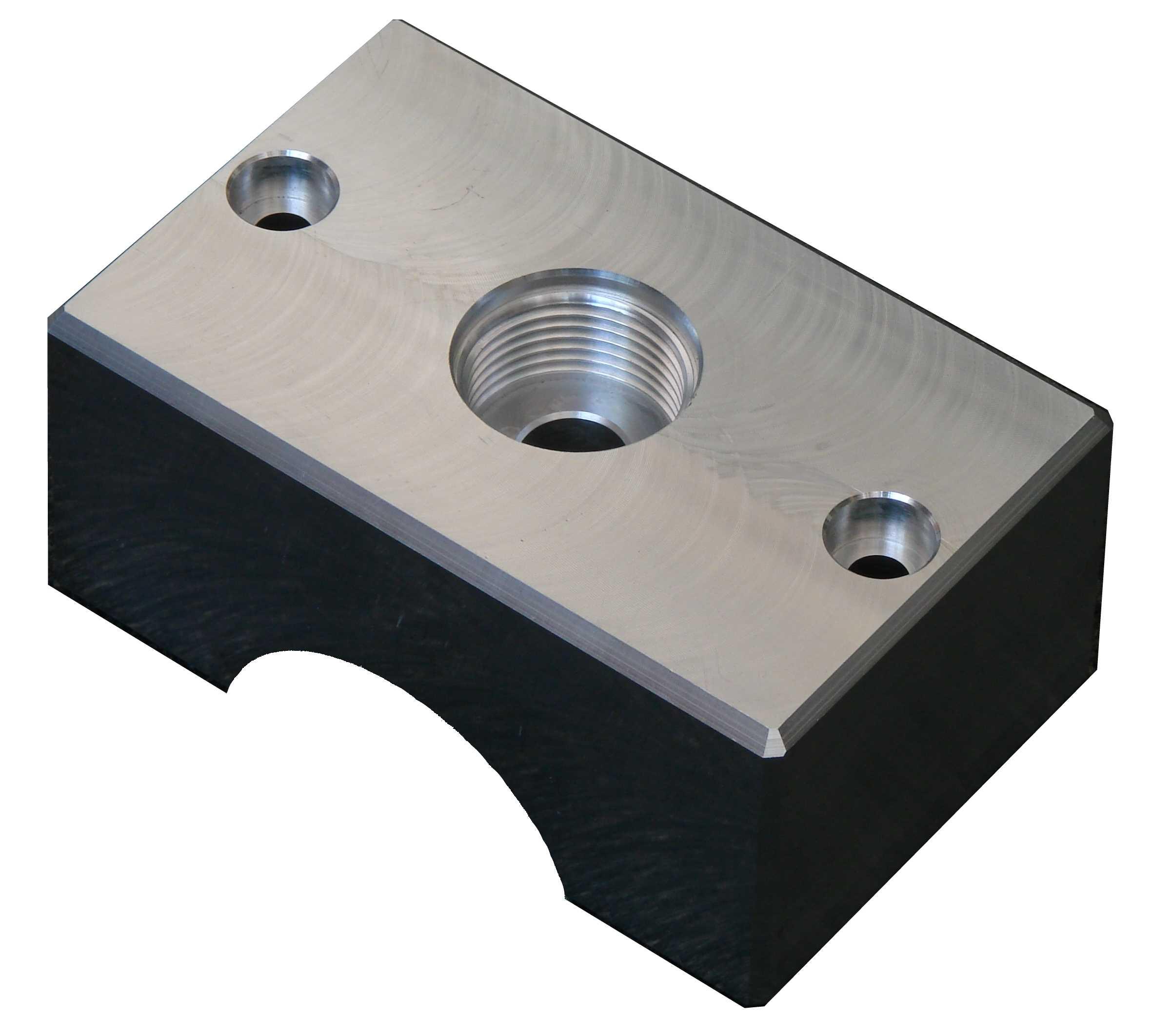 Spannbacken Lohnbearbeitung Aluminium