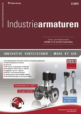 Link zur Zeitschrift Industriearmaturen
